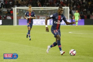 Maillot THIRD Paris Saint-Germain Moussa DIABY
