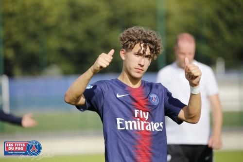 [8J-U19] PSG (3e) – RC Lens (2e) 5-3 (2-1) «Les buteurs étaient de sortie !»