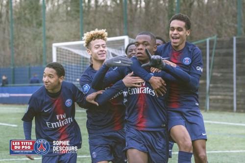 [14J-U17] PSG (10) – Le Havre AC (6) 2-1 (0-1) « Une bonne note pour finir 2018 ! »