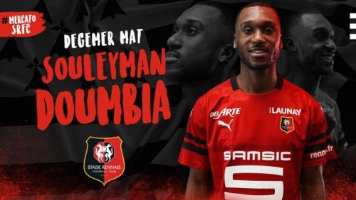 [Mercato] L'ex-Titi du PSG Souleyman Doumbia signe au Stade Rennais