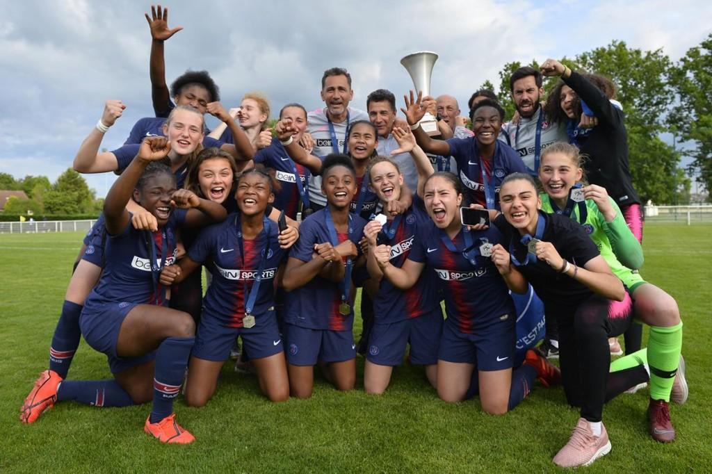 Archives des U19 Fém - Les Titis du PSG