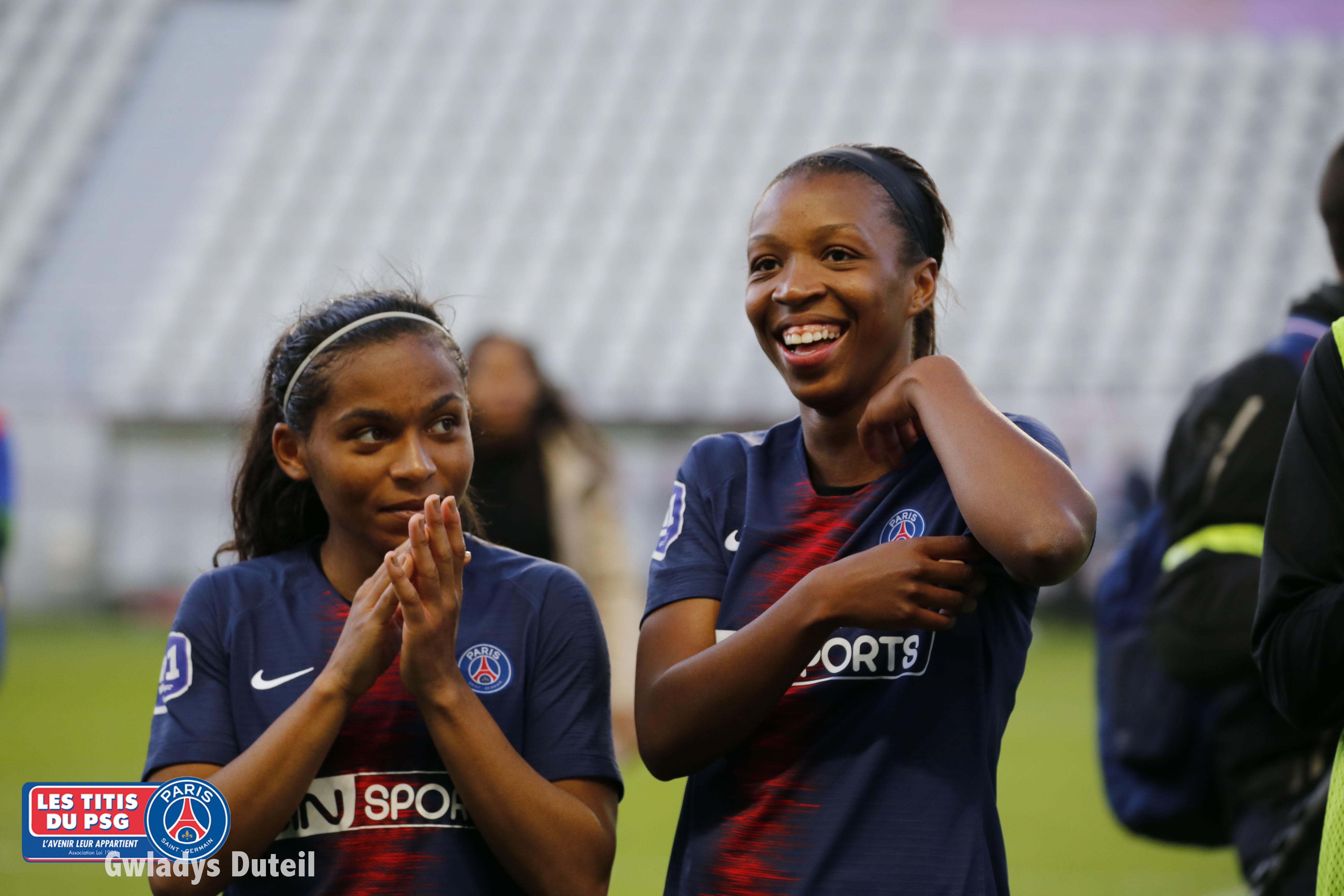 Grace Geyoro milieu de terrain titi girl PSG Féminines