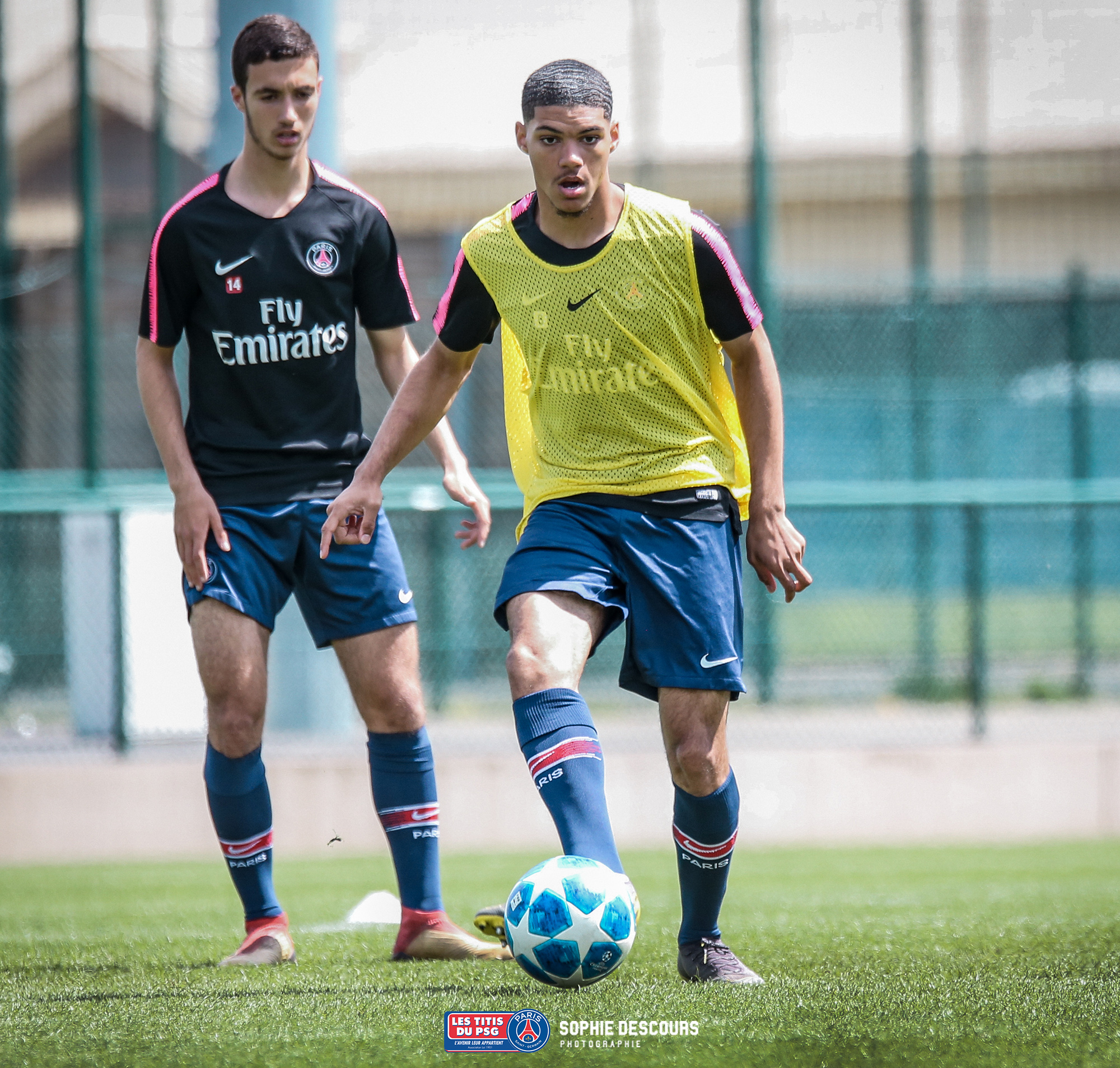 Alexandre Fressange attaquant U19 PSG