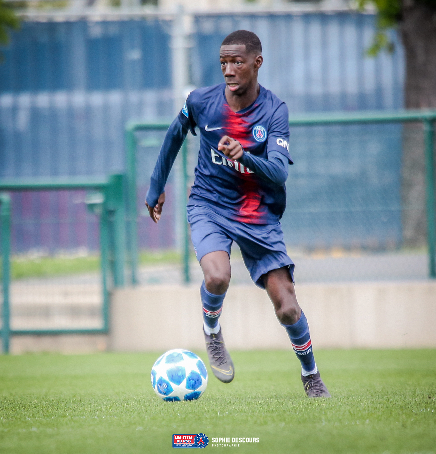 Bandiougou Fadiga milieu de terrain U19 PSG