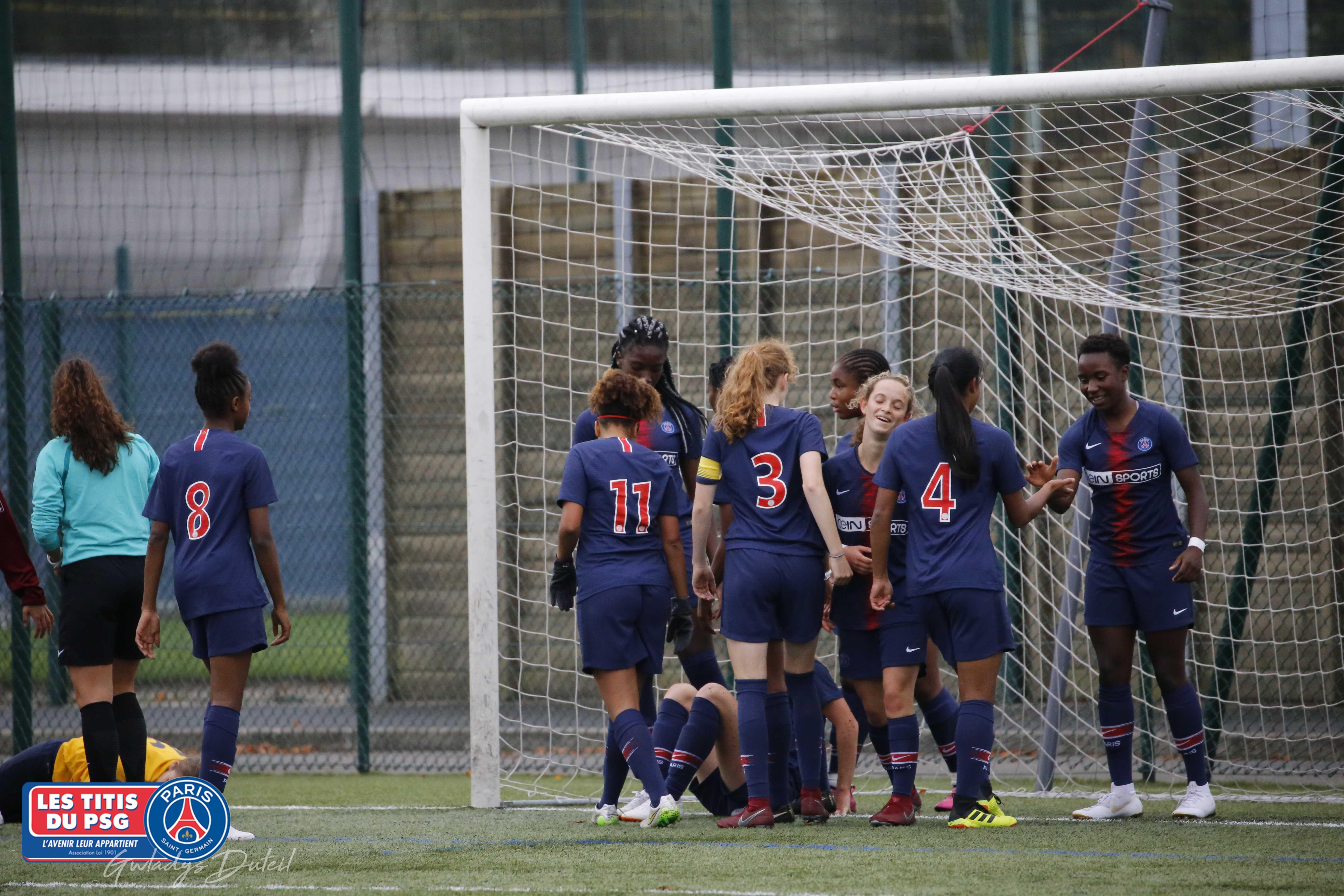 MATCH U19 FÉMININES PSG/FC METZ LE 07/10/2019
