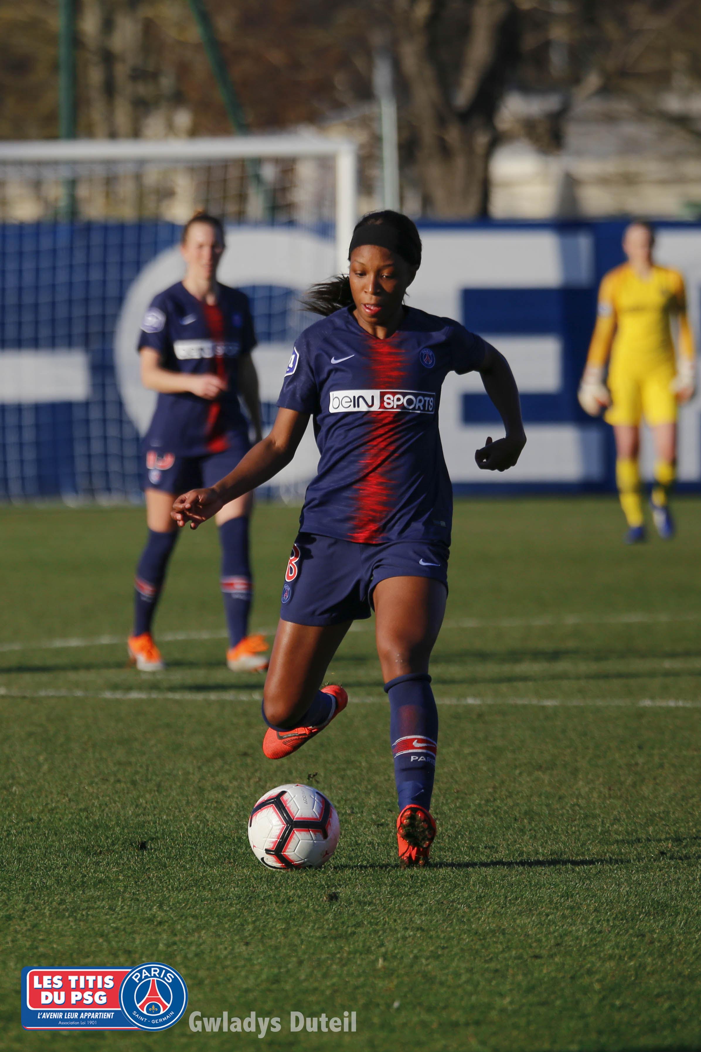 Match Titis Gilrs PSG-FC FLEURY le 17/02/2019