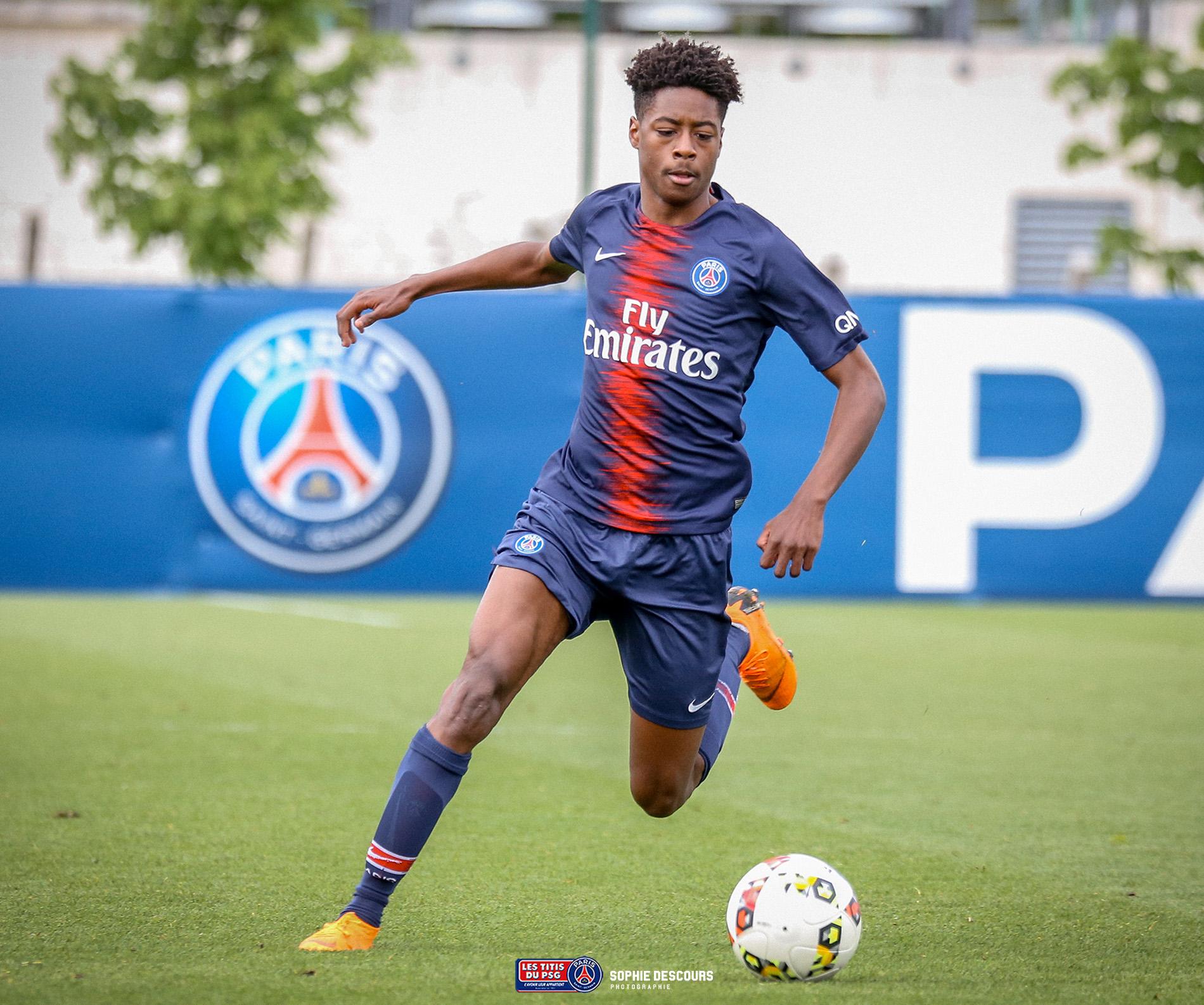 Thierno Balde milieu de terrain U17