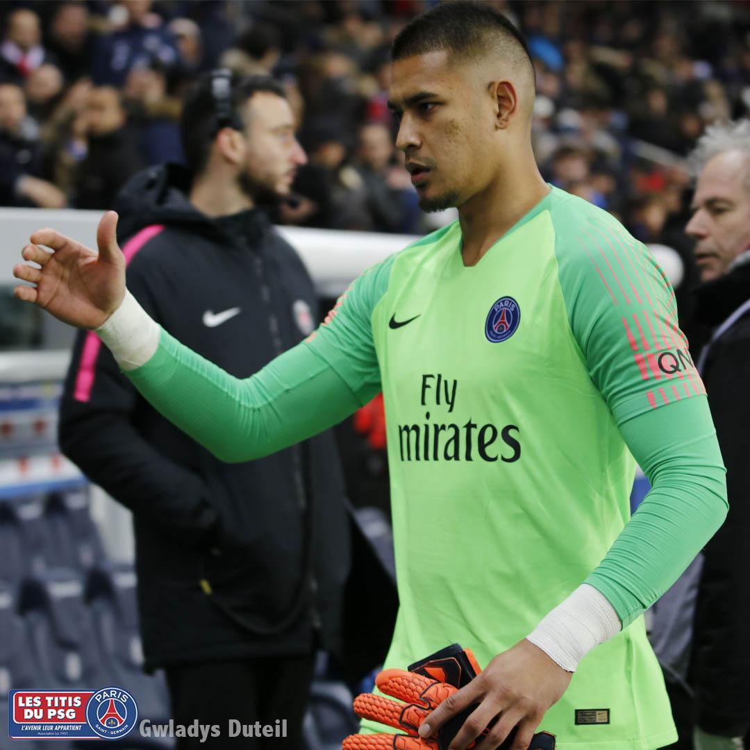 Alphonse Areola gardien PSG