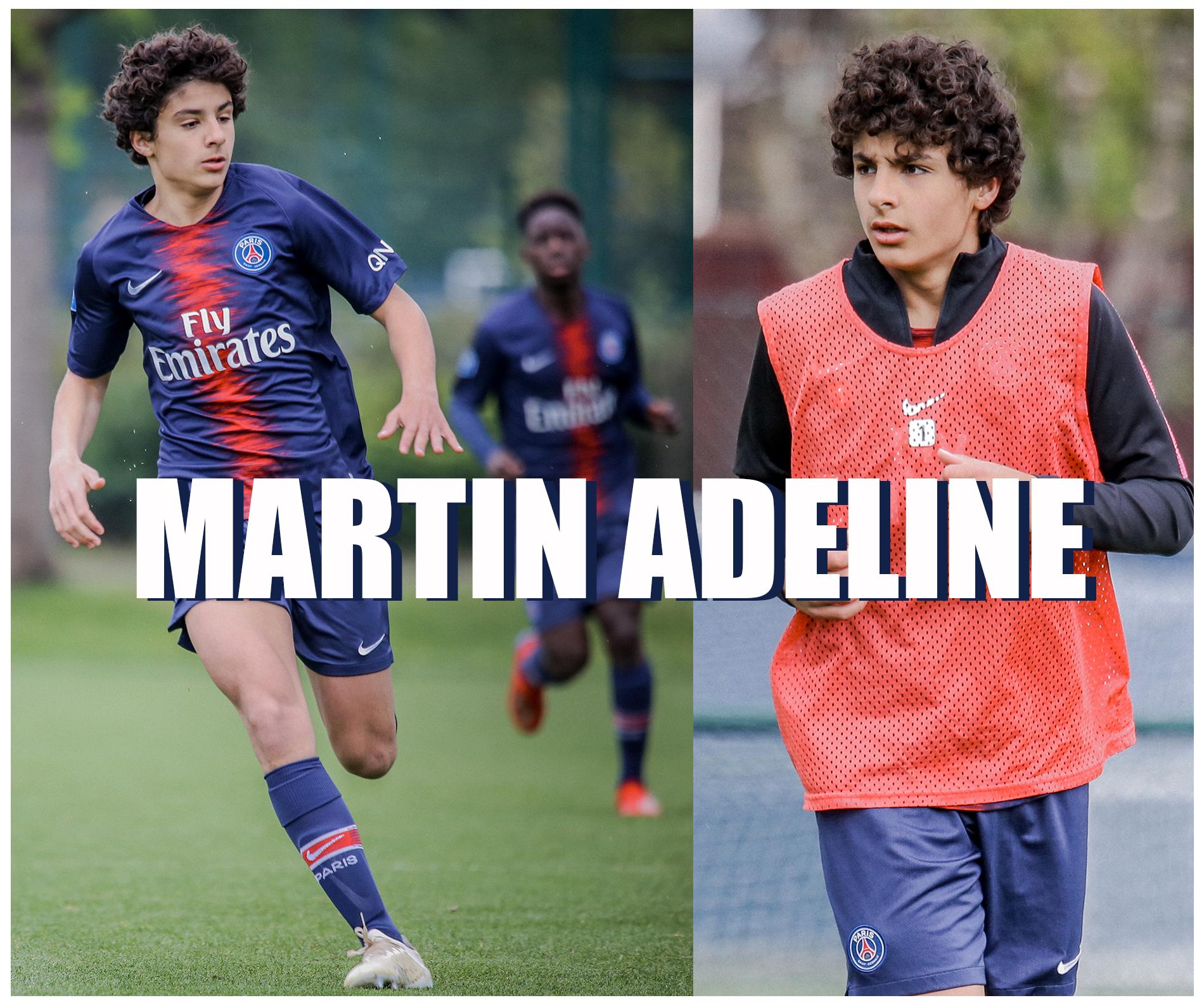 Martin Adeline milieu de terrain U17