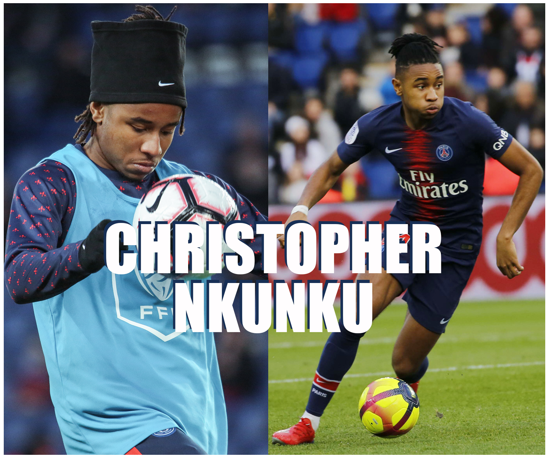 Christopher Nkunku milieu de terrain PSG