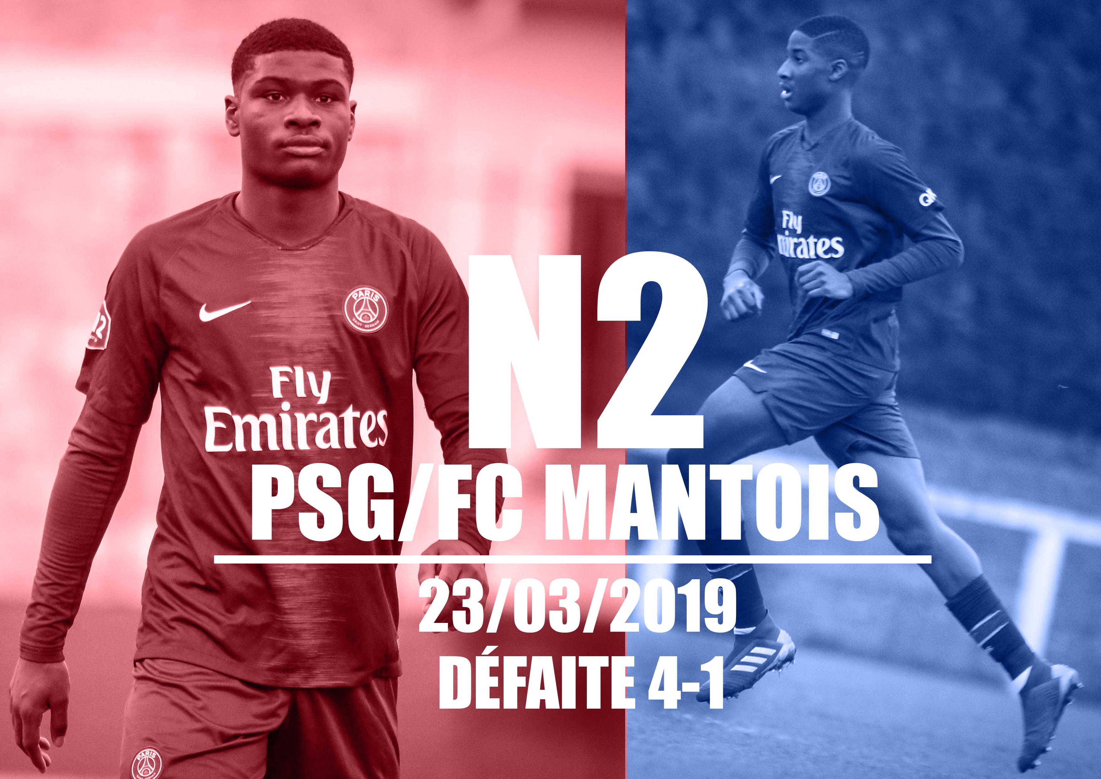 Match N2 PSG-FC MANTOIS le 23/03/2019