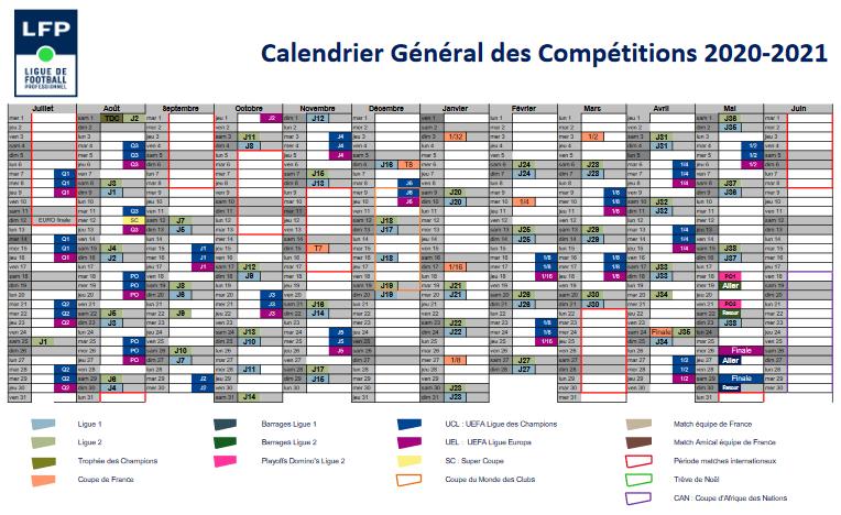 Calendrier Calcio 2021 News Pros] Le calendrier 2020/2021 dévoilé intégralement !   Les