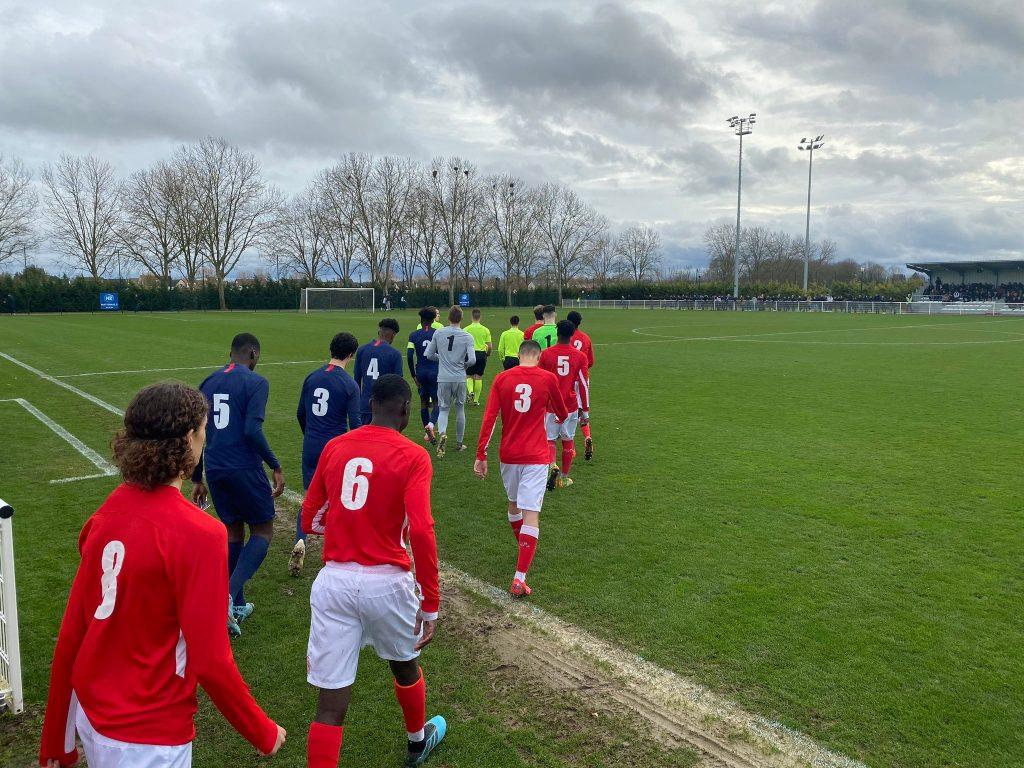 Gambardella U18 Le Psg Bat Le Stade De Reims 2 0 Les Titis Du Psg